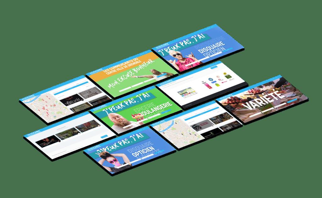Campagne Communication Commerçants