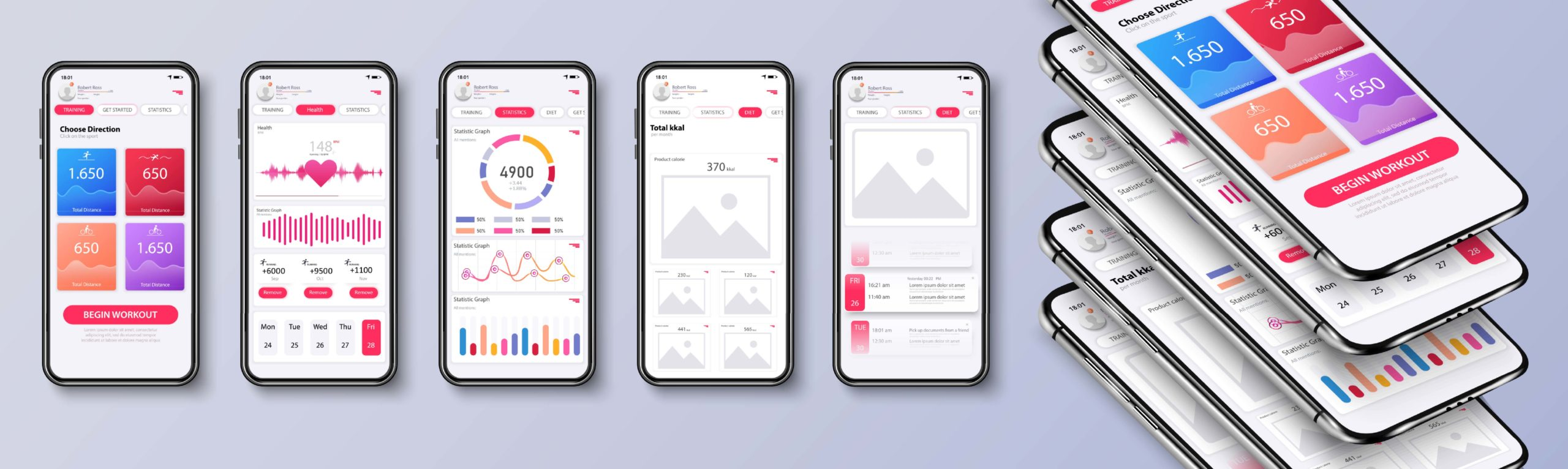 Web design application mobile