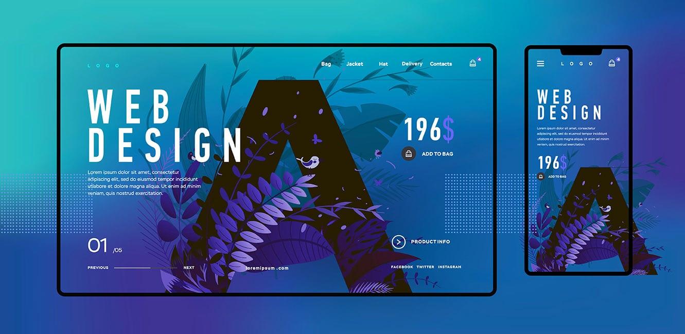 Création site web design