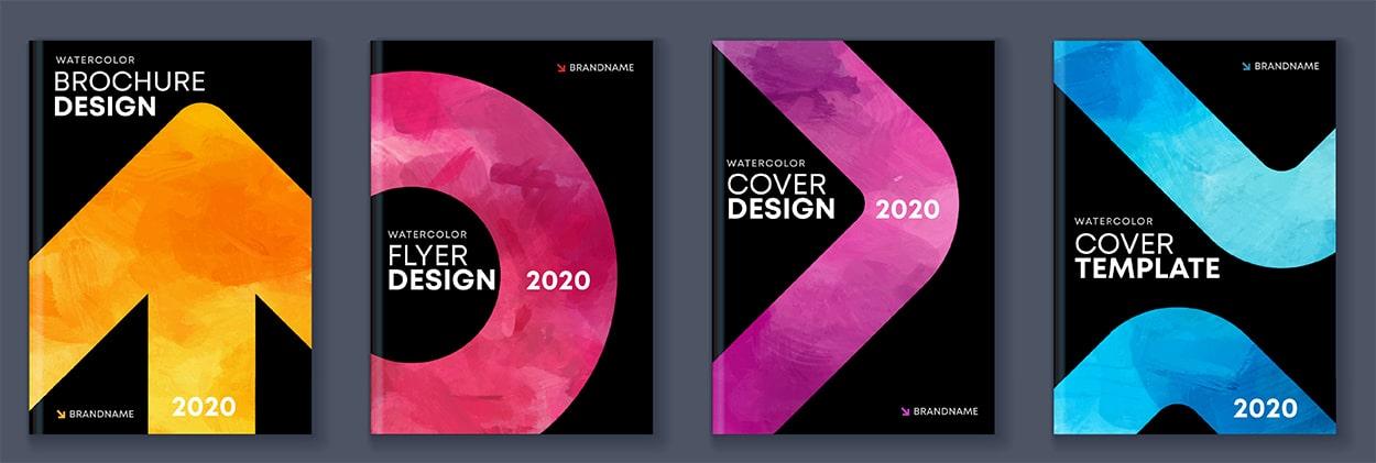 Brochure Aquarelle Design